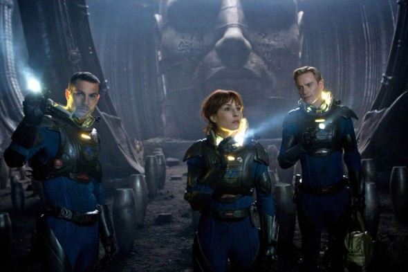 Prometheus crew shot